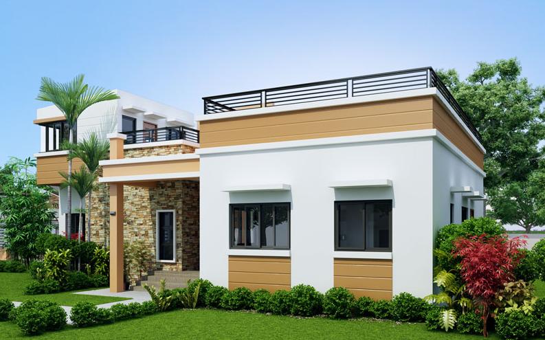 Small house design floor area: 114 sq m   Design   Four