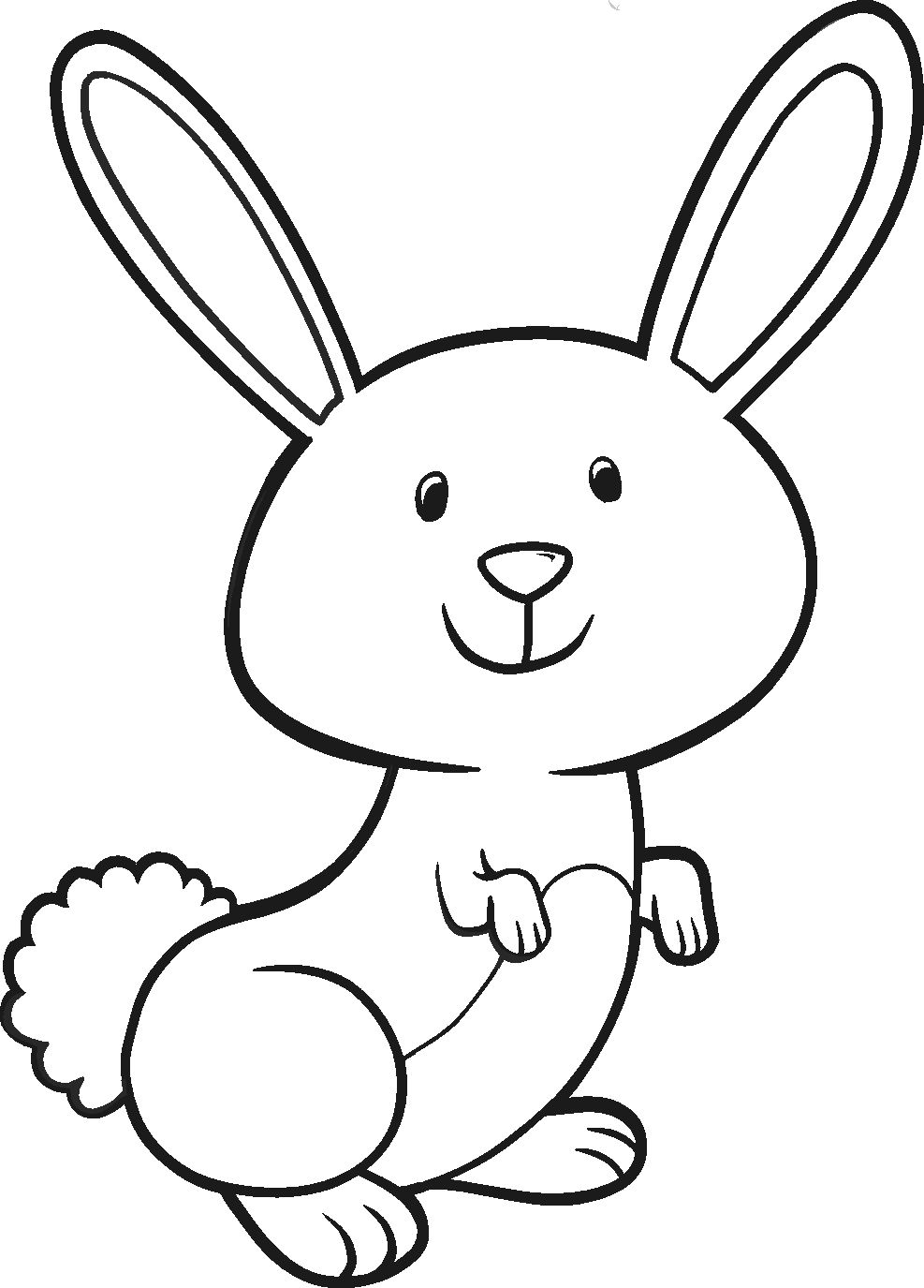 Pin By Shar Fowles On Nursery Bunny Coloring Pages Easter