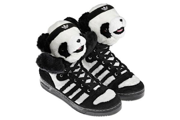 jeremy scott x adidas obyo js panda moda (foto) e i capelli