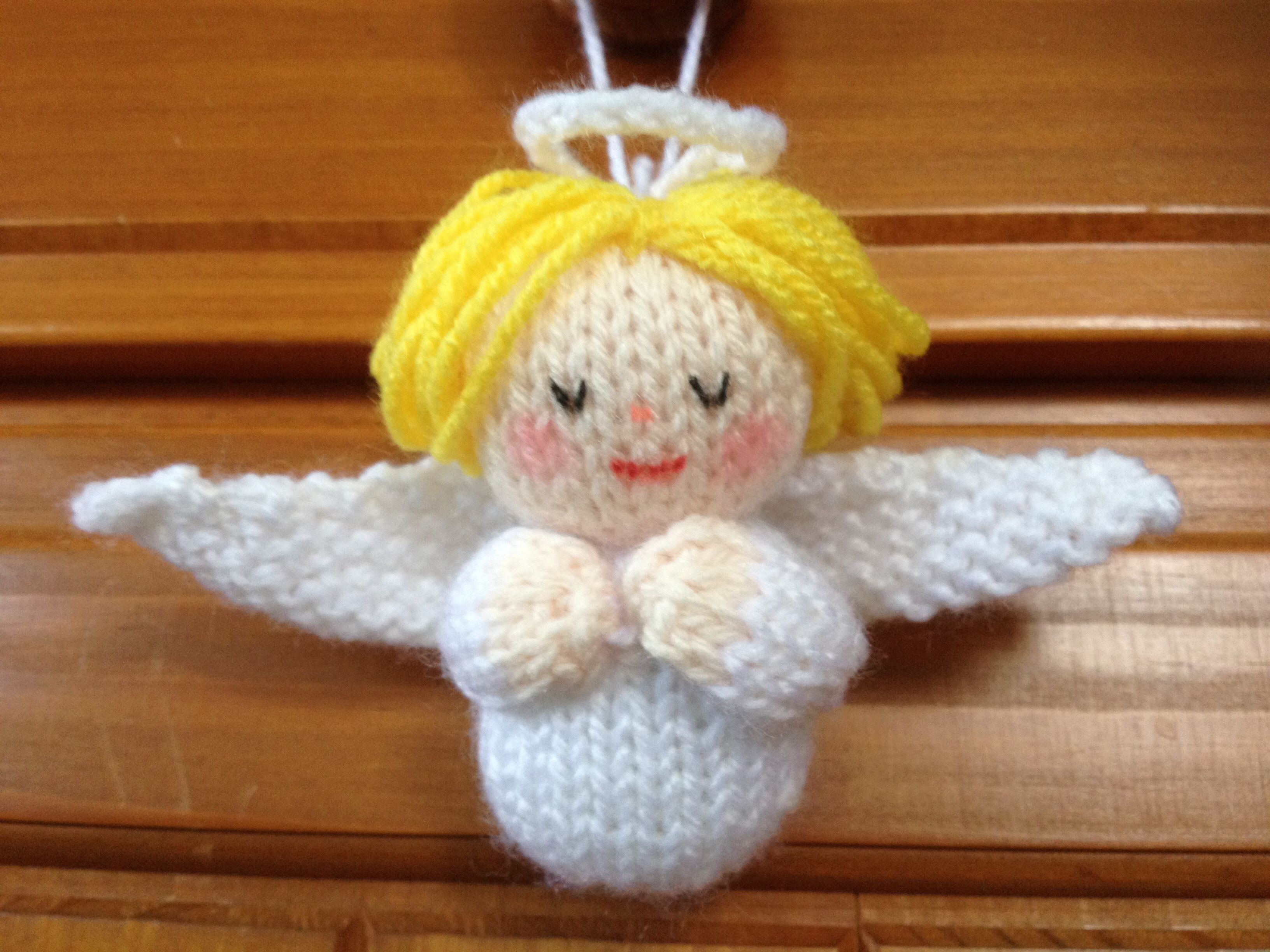 Knitting Patterns Toys Jean Greenhowe : Knitted angel jean greenhowe things i ve created