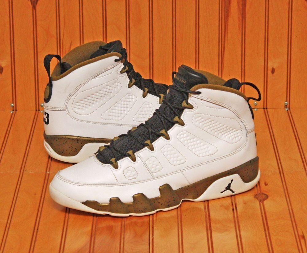 Nike 302370-109 Air Jordan Retro Statue Men's Basketball Shoes - Size 10.5