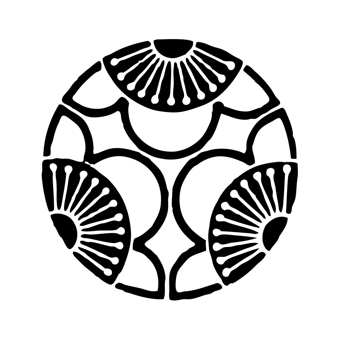 Circle Design Art : My favourite japanese style geometric tattoo design