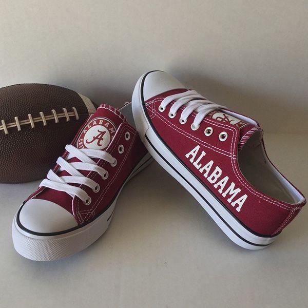 dfd350834 Alabama Crimson Tide Converse Style Shoes - http   cutesportsfan.com alabama
