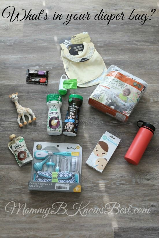 What's In My Diaper Bag? - Check out these NEW and UNIQUE Diaper Bag Essentials for mom, baby, and toddler. #diaperbagfavs #beechnut #ad