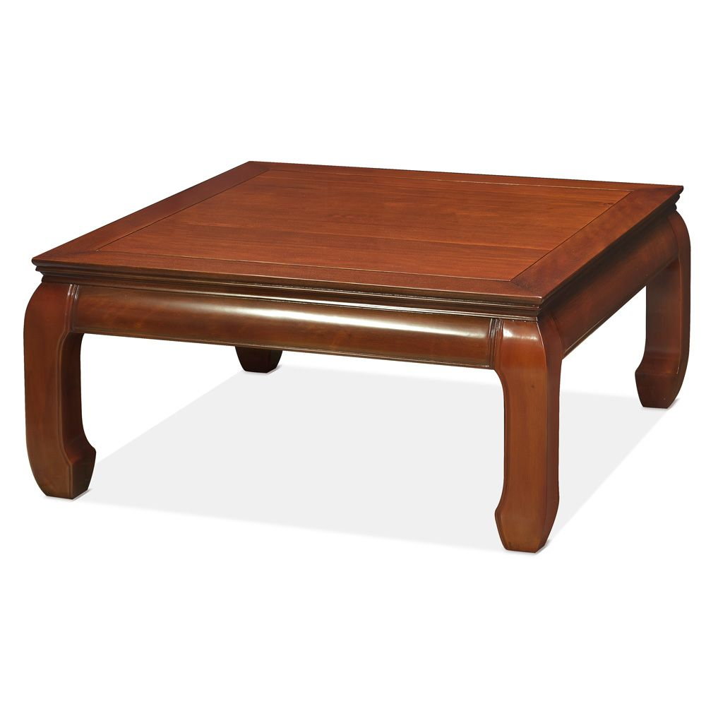 Rosewood Ming Style Square Coffee Table Coffee Table Square