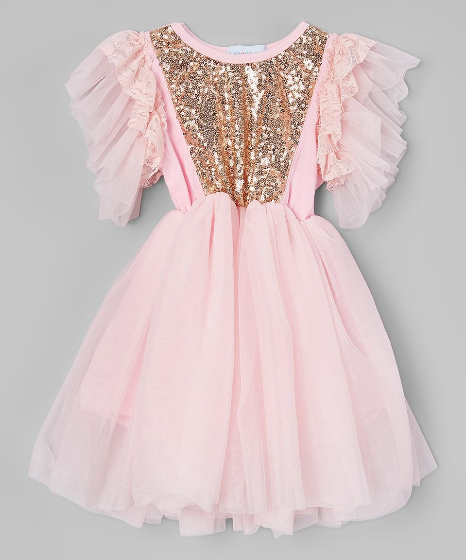 66ed04eb4 Just Couture Light Pink Sparkle Ballet Dress - Infant