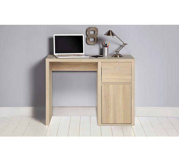 Argos Sicily Garden Table And Chairs: Buy Sicily Limed Oak Desk At Argos.co.uk, Visit Argos.co