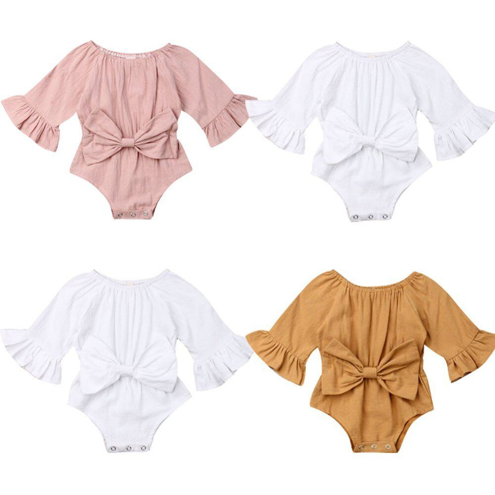 Baby Girl Clothes Romper Jumpsuit Outfit 0 24m Baby Girl Outfits Newborn Newborn Outfits Fashionable Baby Clothes