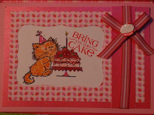 #birthday #card I made my mom #cardmaking #papercrafting #stamping #birthdaycard