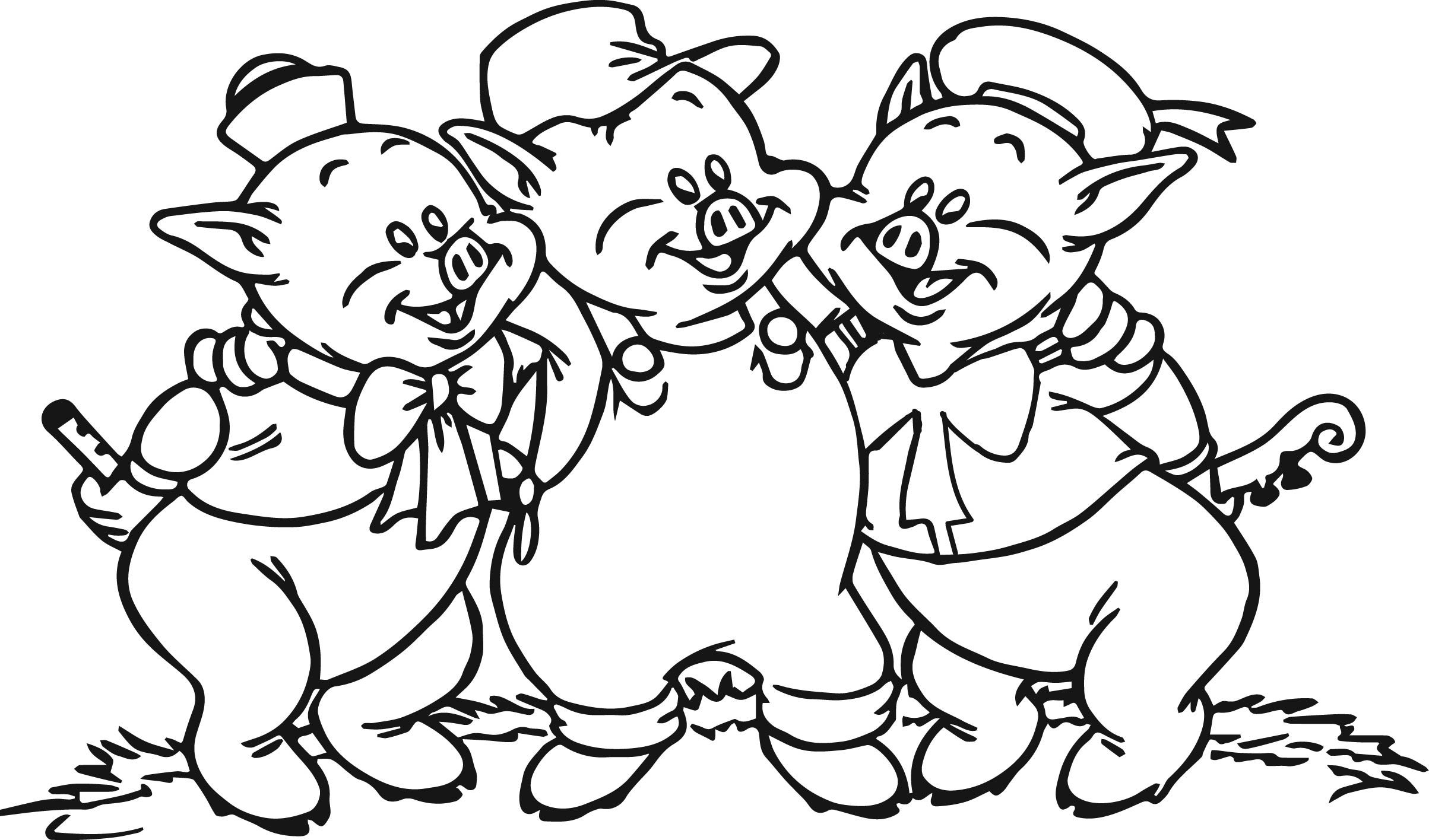 Nice 3 Little Pigs Coloring Page Coloring Pages Disney Coloring Pages Three Little Pig