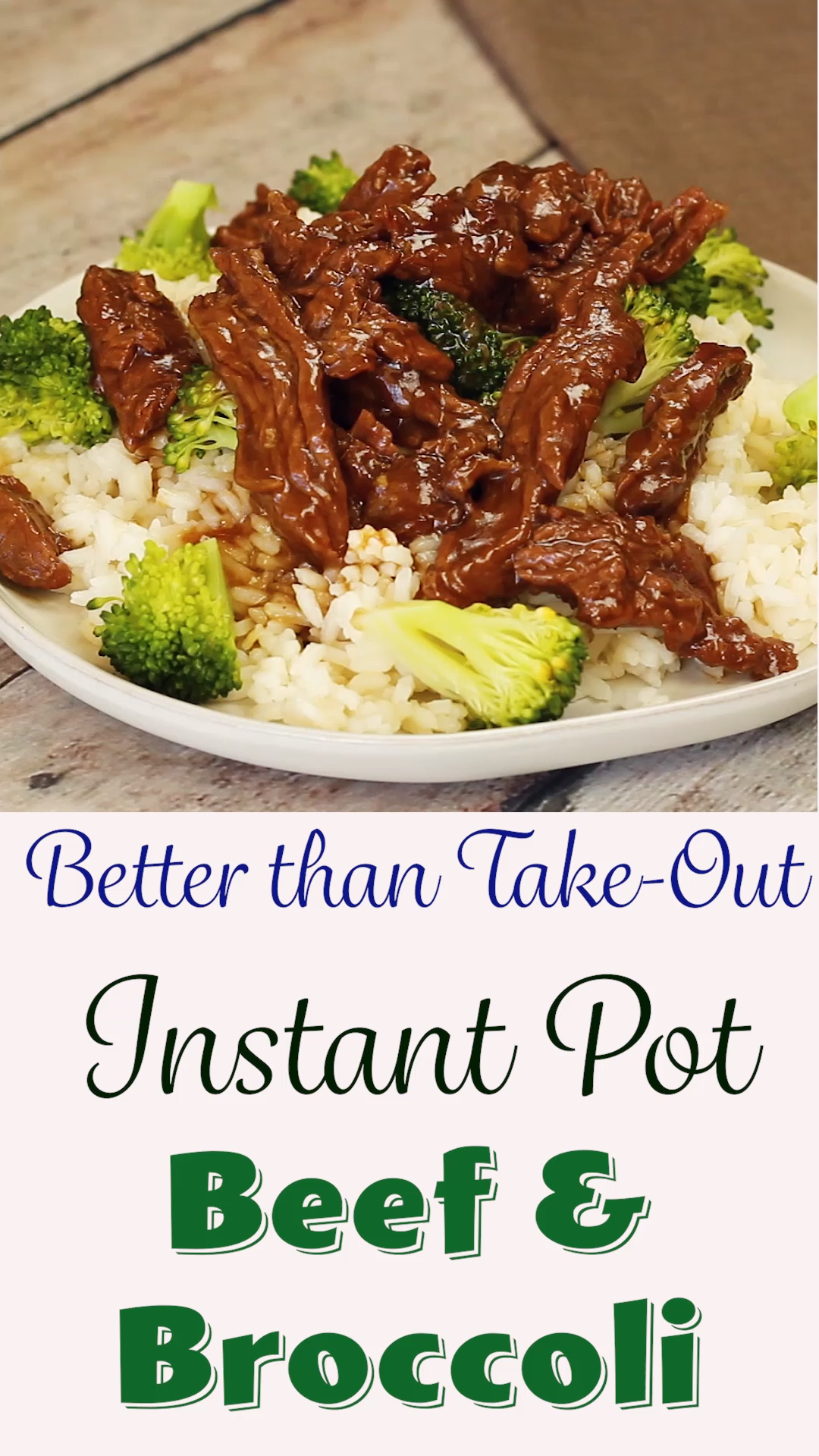 Photo of Instant Pot Beef and Broccoli