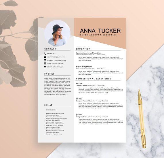 Modern Resume Template Cv Template Professional And Creative Resume Word Resume Instant Download Docx Cv Criativo Curriculo Criativo Curriculum Criativo