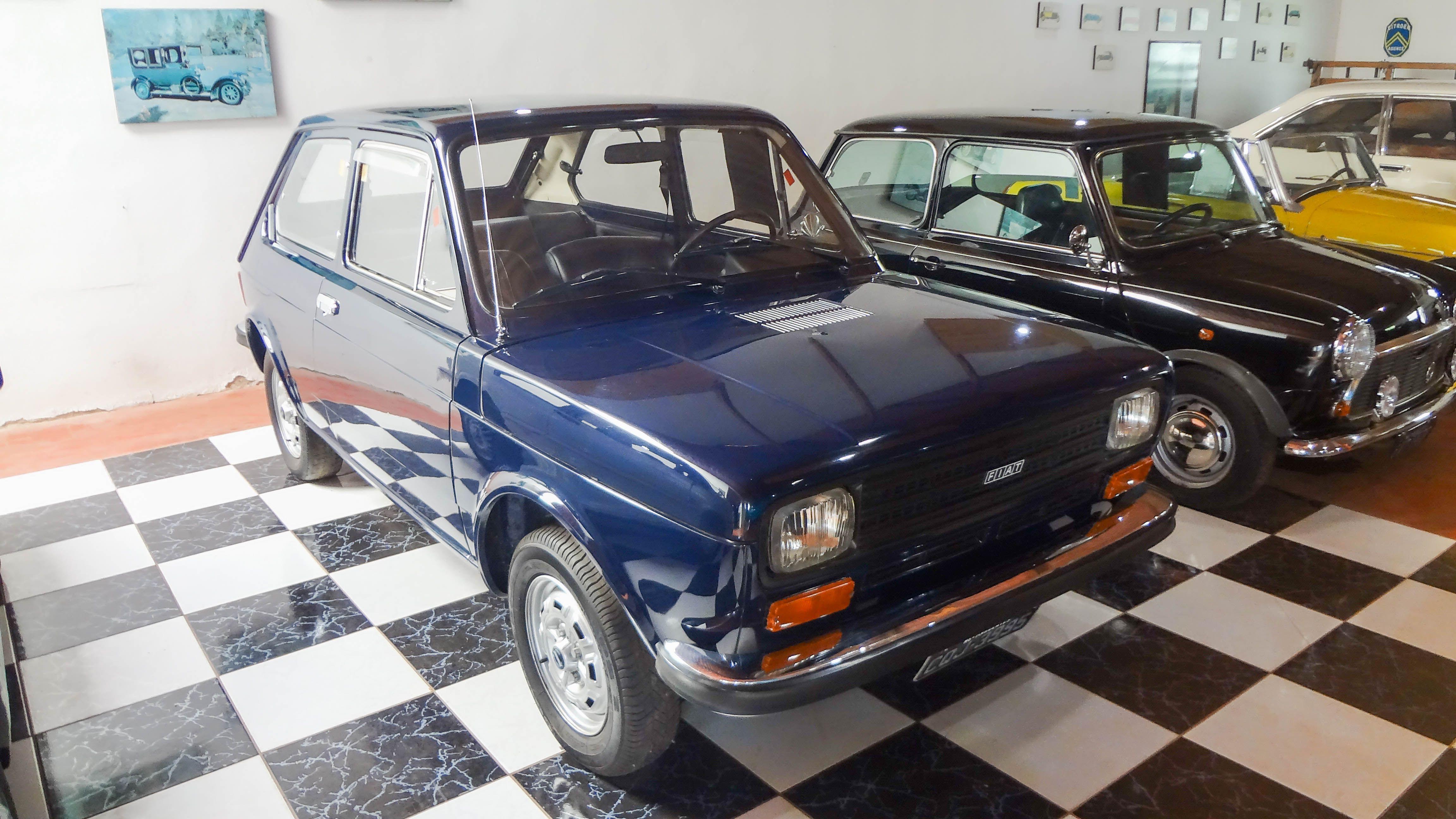 Fiat 147 1977 Brasil O Museu Do Automovel Foi Inaugurado Em