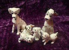 Rare Vintage 101 Dalmatians Walt Disney Production Japan 6 pc set c.1960's