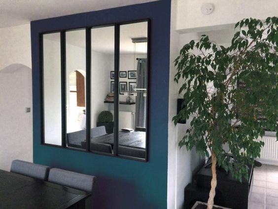 une verri re miroir avec ikea appart haus dekoration dekoration et ikea wohnzimmer. Black Bedroom Furniture Sets. Home Design Ideas