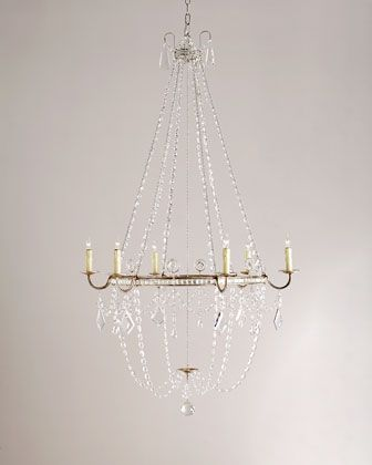 horchow lighting. Sharon+Medium+6-Light+Chandelier+by+Visual+Comfort+ Horchow Lighting 4