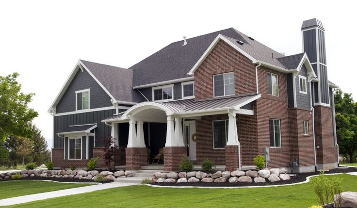 House Build Stuff Red Brick House Exterior Brick Exterior House Grey Brick Houses