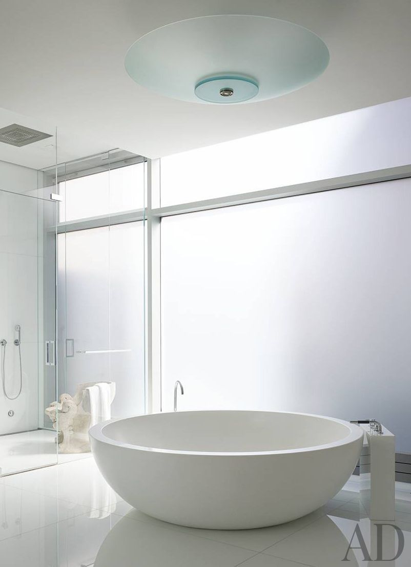 Corian Tub By Boffi Modern Bathroom Ingrao Inc And Frederic Schwartz Architects In NYC