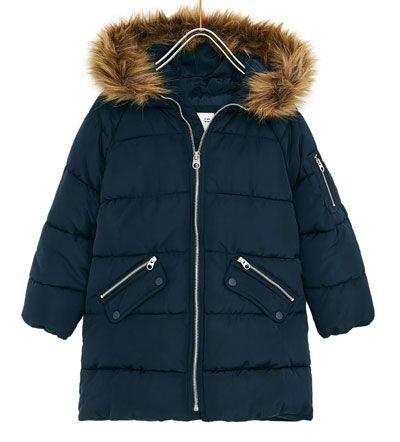 Navy Blue Children S Dope Clothes Puffer Parka Winter