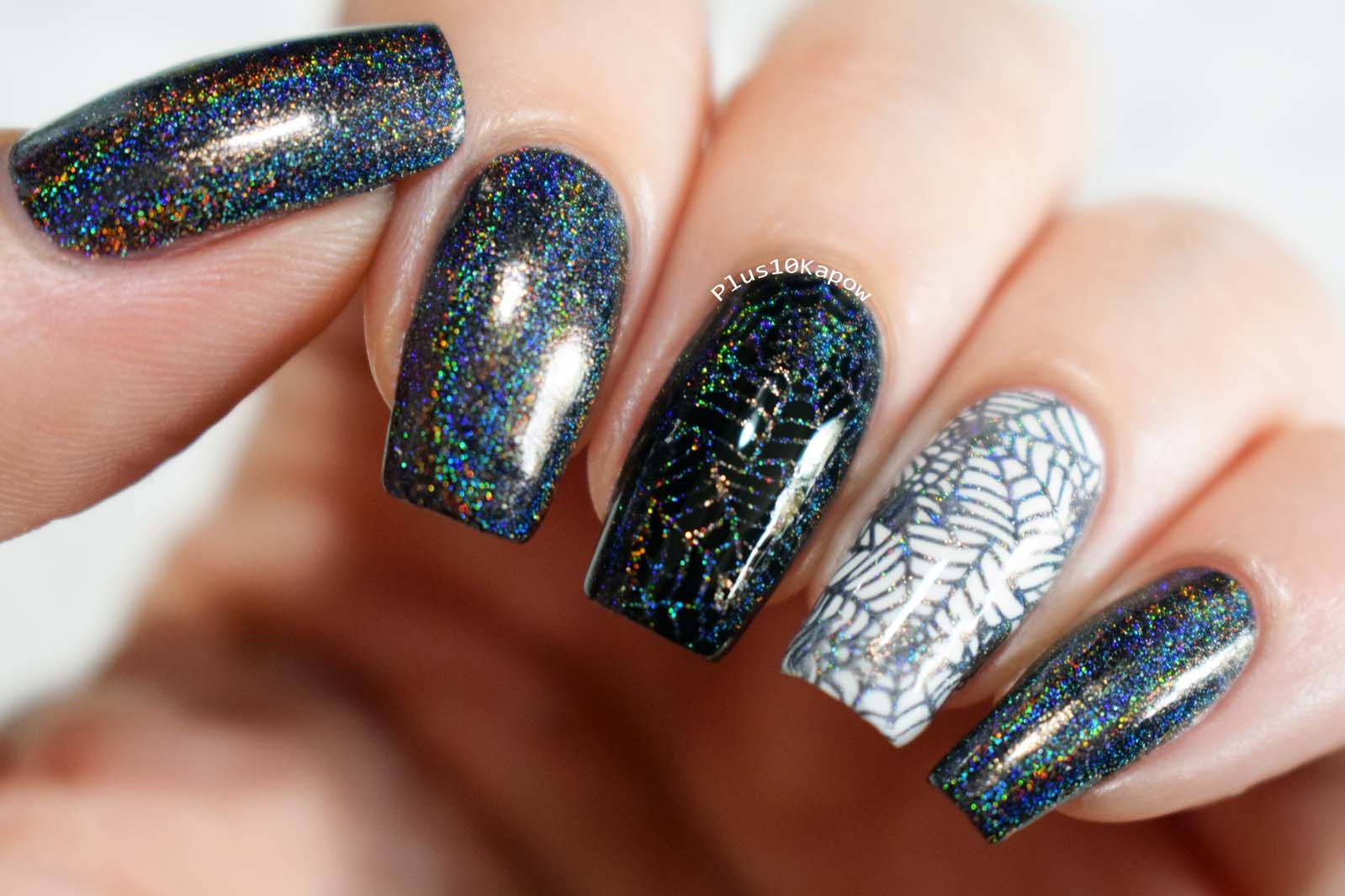 Born Pretty Fantasy Sky- Holo Stamping Polish | Halloween ...