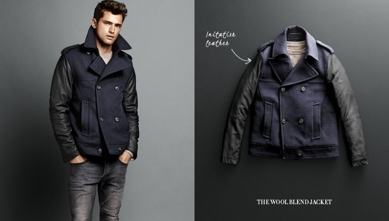 c9916e3ec Sean O'Pry Dons Coats & Jackets for H&M | My.davE | Fashion, Winter ...