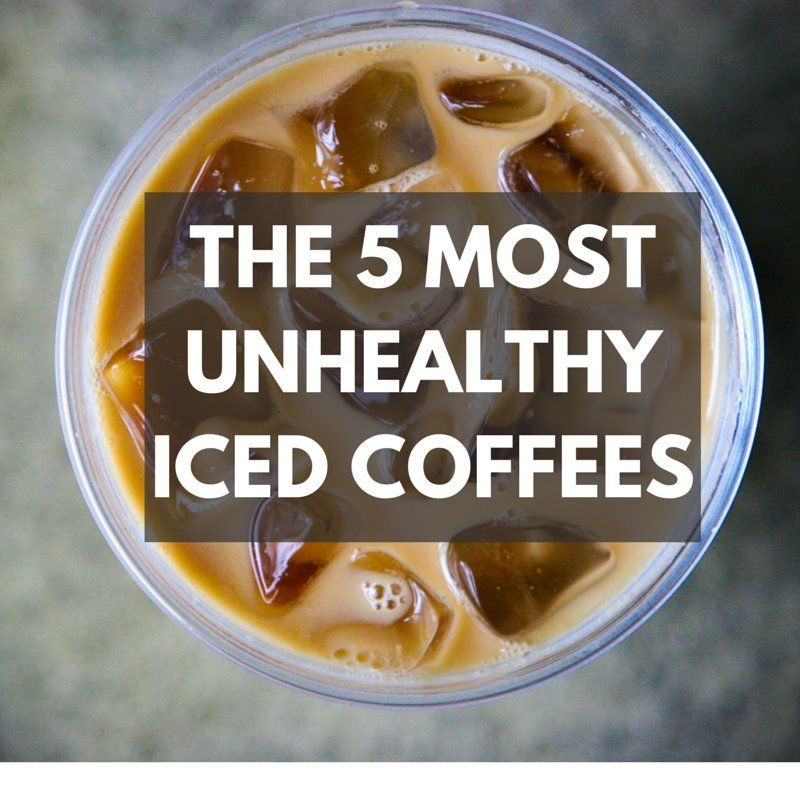 coffee drinks iced food fast worst health unhealthy drink huffingtonpost near