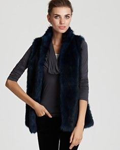 want this Aqua fur vest