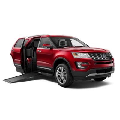 BraunAbility MXV Ford Explorer - Wheelchair SUV | Braunability Ford Explorer in 2019 | Ford ...