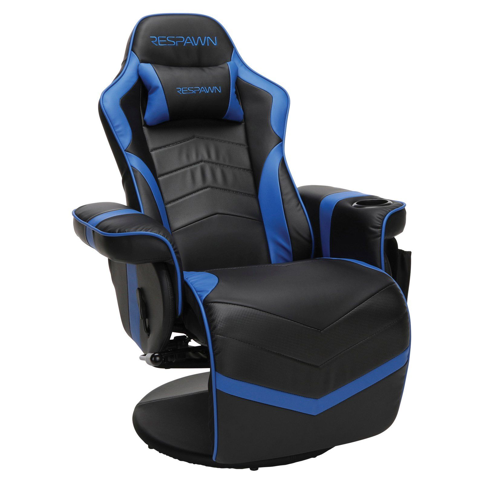 RESPAWN900 Racing Style Reclining Gaming Chair Blue in