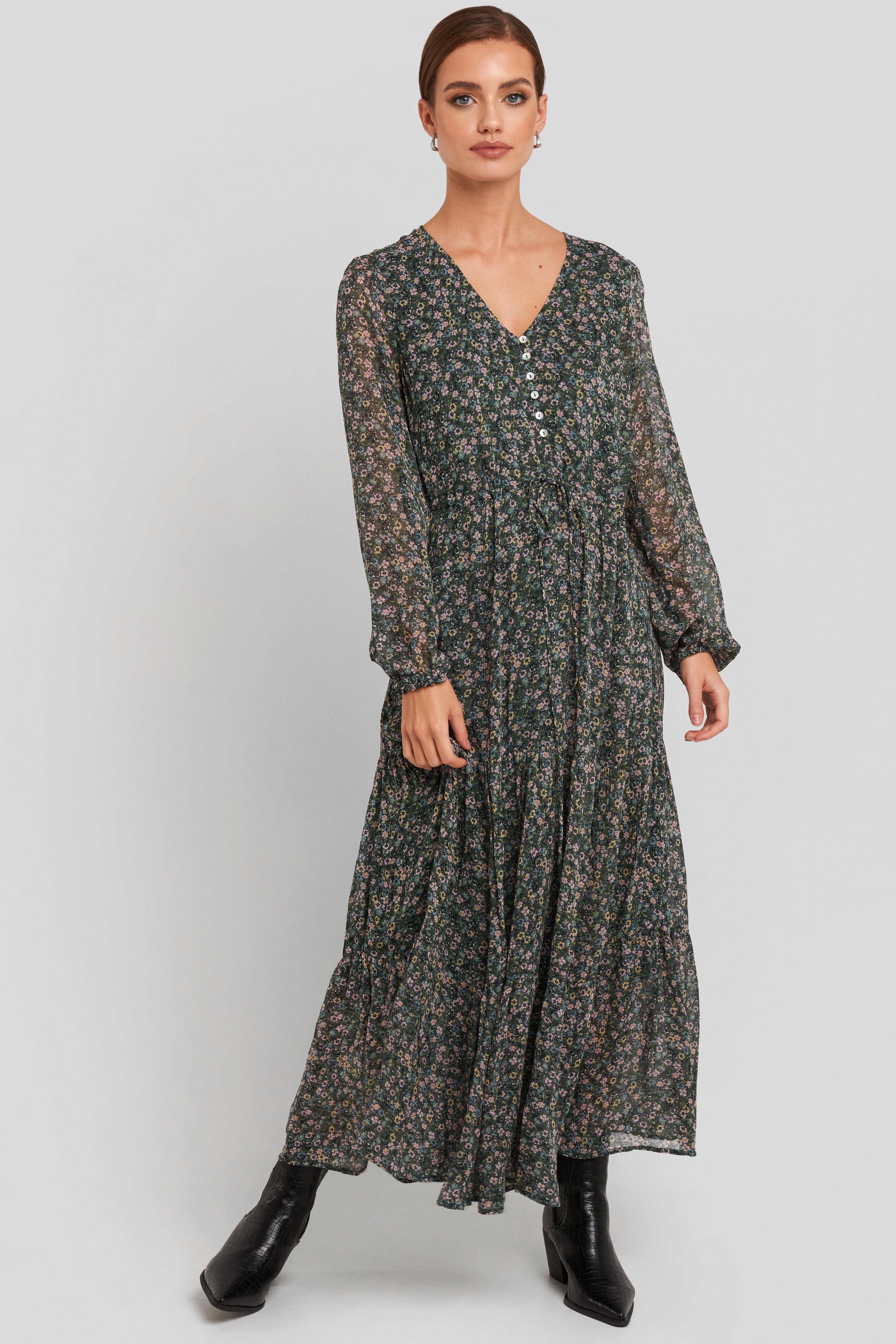 Liberty Dress Grün in 2020 | Modestil, Kleid mit ärmel ...