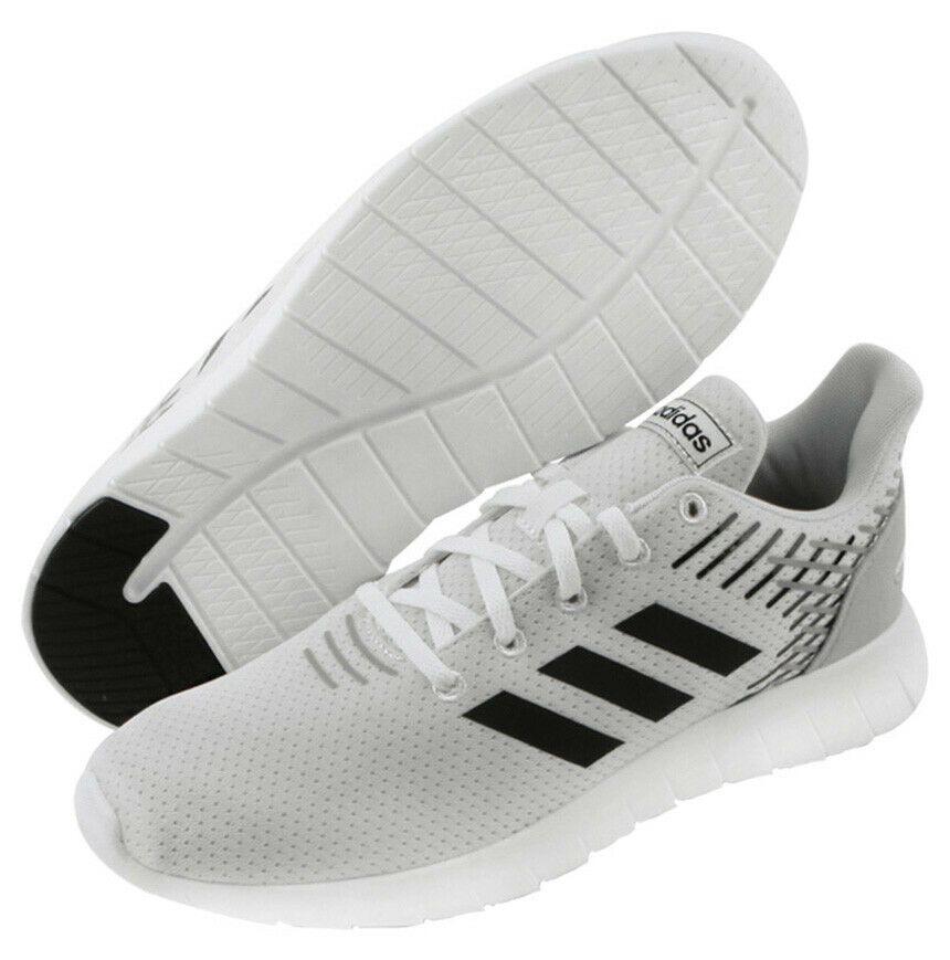 adidas Men's ASWEERUN Running Shoes Black Walking Casual Gym