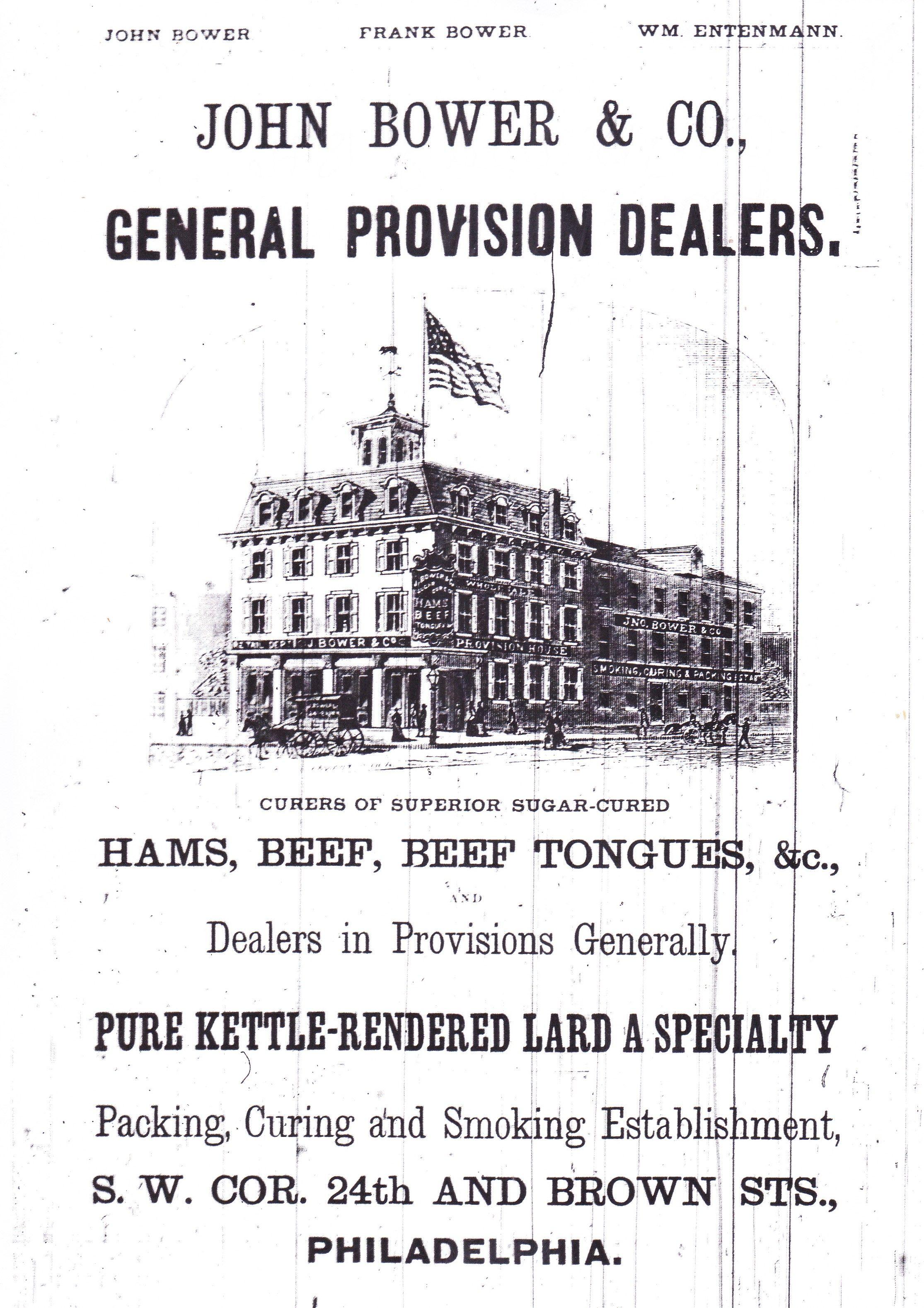John Bower   Co. General Provision Dealers e470aea40d5