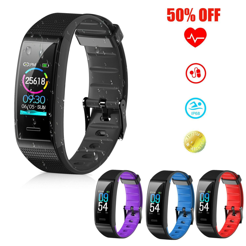 Fitness Tracker Smart Wristband Sport Watch Pedometer Calorie Heart Rate Monitor - Fitness Watch - I...