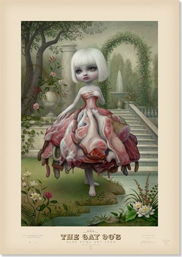 Mark Ryden Incarnation Limited Edition Poster Print Lowbrow
