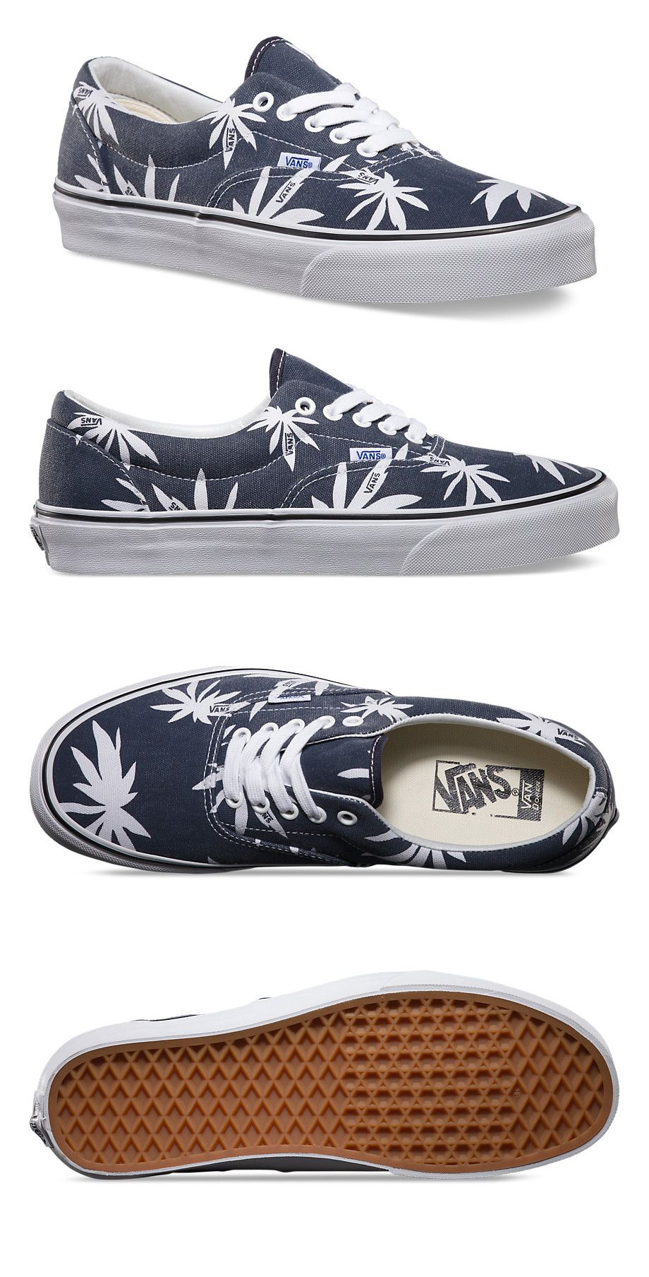 36733a12f669 Vans Footwear // Era Shoes Palm Print | vans in 2019 | Mens vans ...