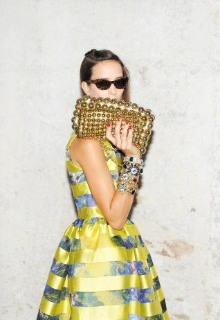 LOVE THIS  MSGM Spring/Summer 2012
