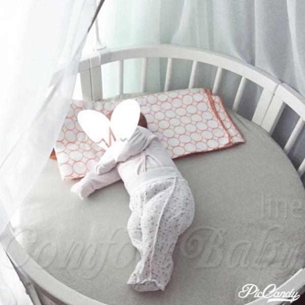 Ovales Babybett Rund Comfortbaby 350 7 In 1 Baby Baby Baby Co