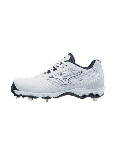 5960b3d6338 Mizuno Womens Softball Shoes - 9-Spike Advanced Sweep 4 Low Womens Metal  Softball Cleat - 320569