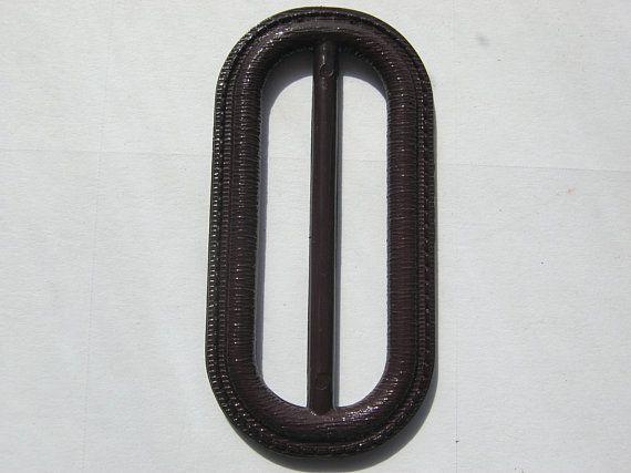Temperament Schuhe viele modisch Volumen groß 10 Stück Ovale Gürtelschnallen ohne Dorn,Weinrot,Länge ca.63 ...