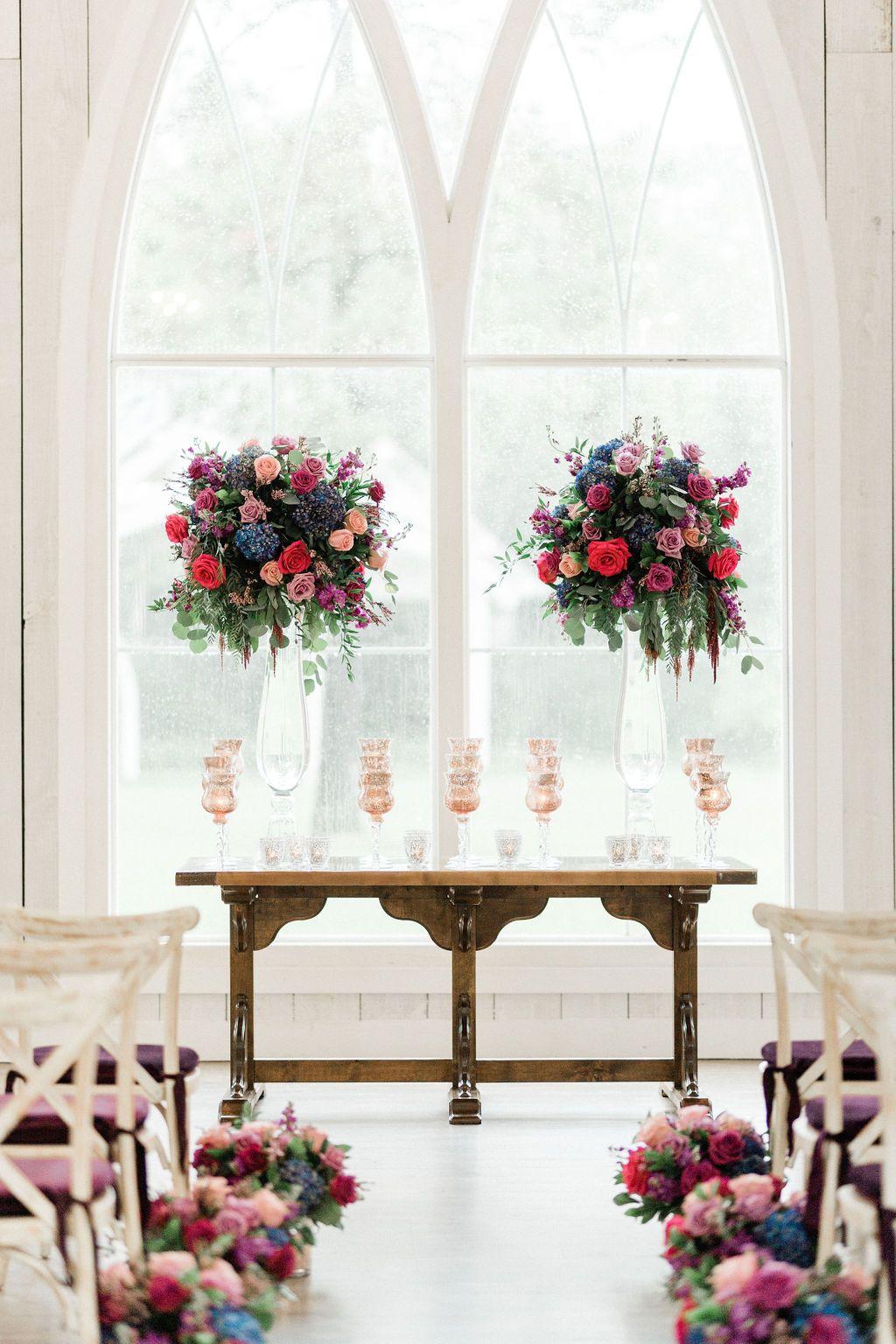 Trinity Farmhouse Indoor Wedding Decorations Wedding Ceremony