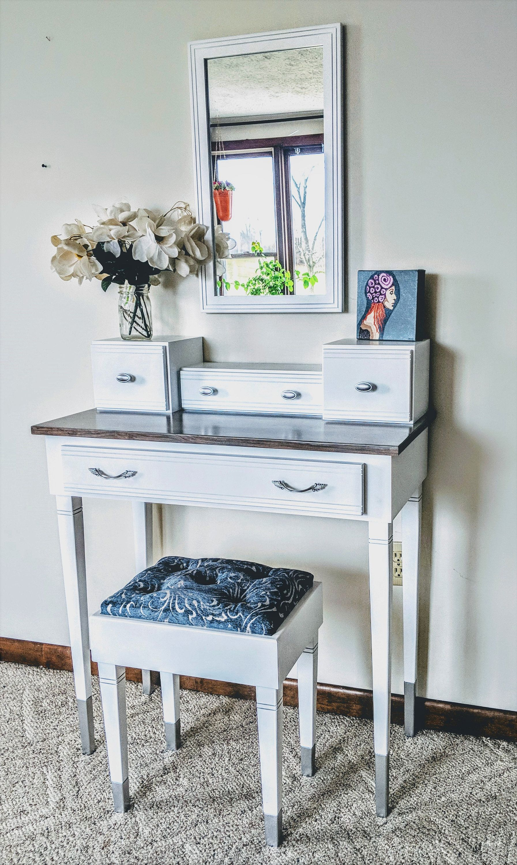 Pin by MeagansMood on MeagansMood Furniture Vanity seat