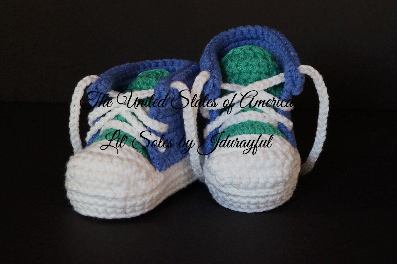 611295d8c52715 Crochet Baby Shoes