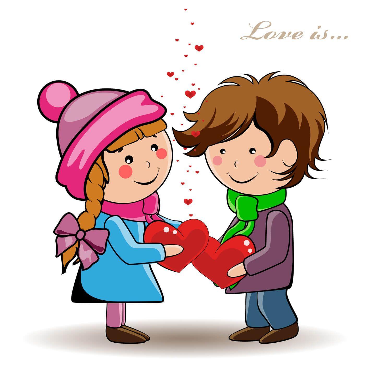 Imagenes Con Corazones Para Enviar El Dia Del Amor Y La Amistad Dibujos De Amor Imagenes De Amor Dia Del Amor