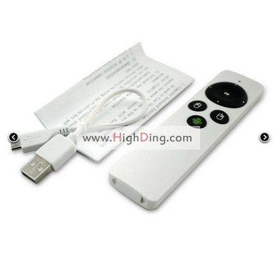 RC9 Mini 2.4G Wireless Gyroscope Fly Air Mouse 360° full angle operation Remote Control