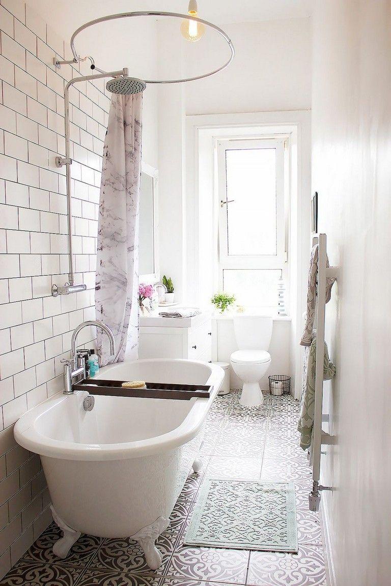 41 Cool Small Master Bathroom Remodel Ideas On A Budget Small Narrow Bathroom House Bathroom Designs Tiny House Bathroom