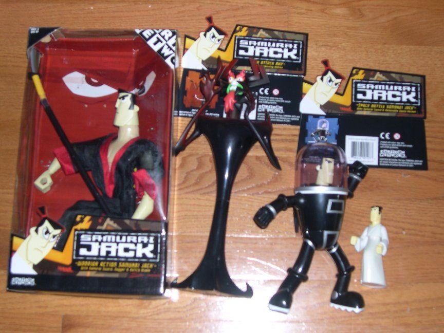 Samurai Jack Action Figures My Toy Box Toys Samurai
