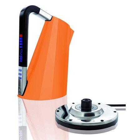 Bugatti Touch Sense Vera Kettle - Orange at Amara | Electric kettle, Kettle, Bugatti