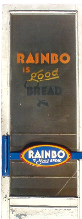 Rainbow Bread Screen Door (San Antonio, Alamo: house