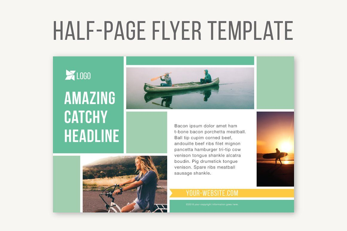 Half Page Flyer Template Flyer Template