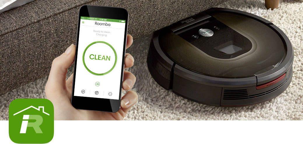 iRobot Roomba 980 metoda Smart de aspirare a locuinței